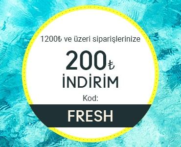 1200 ₺ ve ÜZERİ ALIŞVERİŞLERİNİZDE 200 ₺ İNDİRİM!