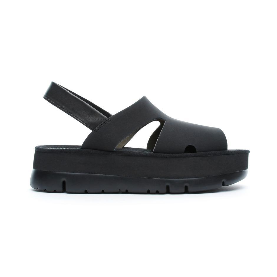 Camper Oruga Up Kadın Siyah Sandalet