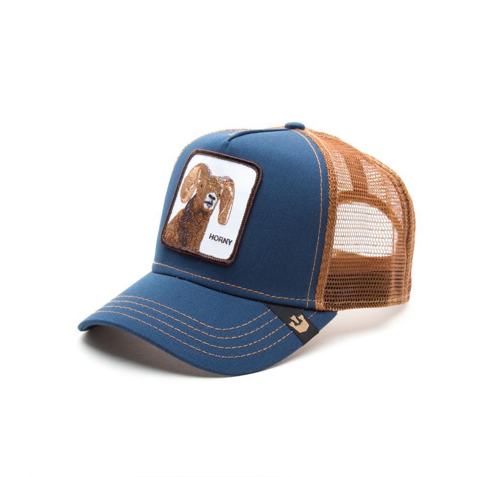 Goorin Bros Gorra Big Horn Navy Unisex Lacivert Şapka