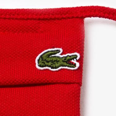 Lacoste Pamuklu Yıkanabilir Kırmızı L1212 Maske
