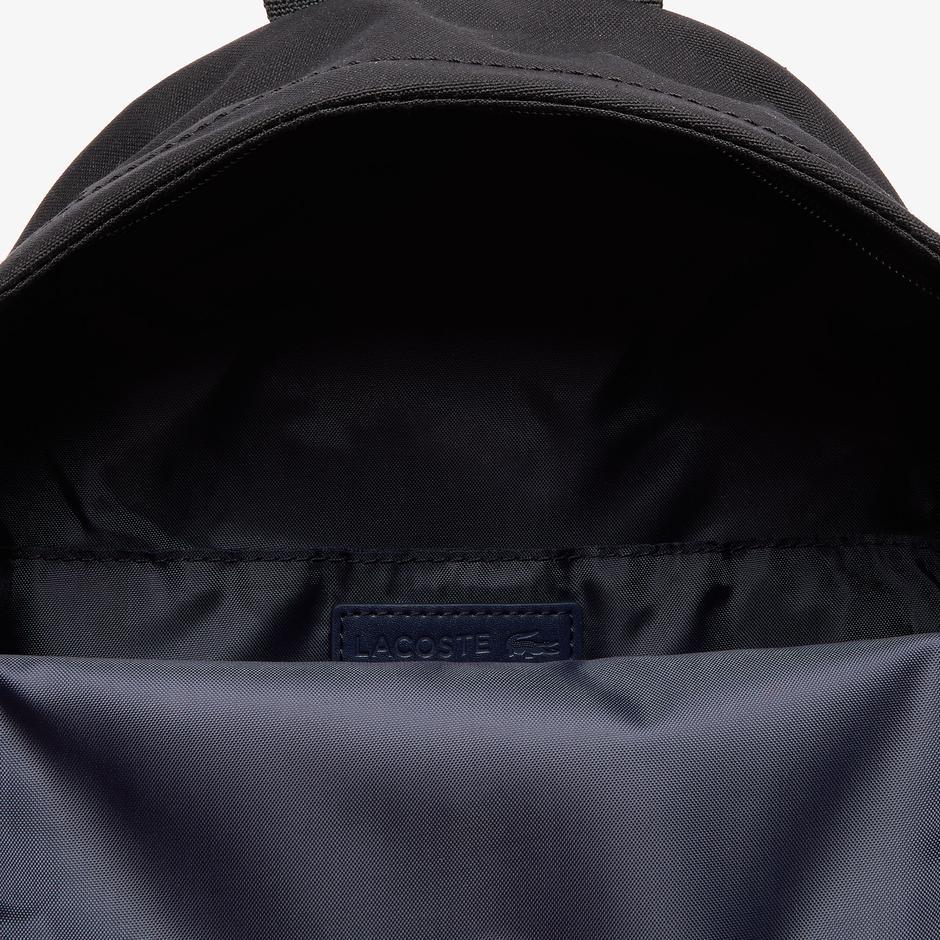 Lacoste Neocroc Unisex Siyah Sırt Çantası