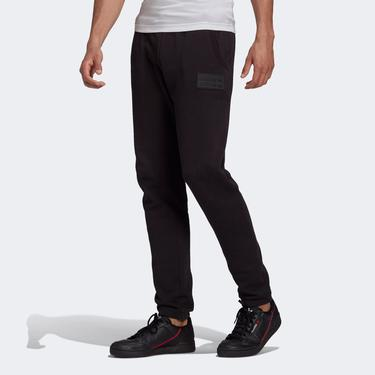 adidas R.Y.V. Silicone Double Linear Badge Erkek Siyah Eşofman Altı