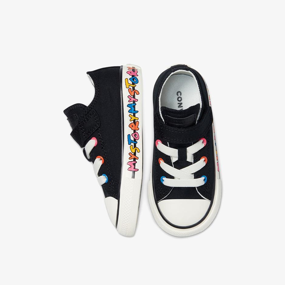 Converse Chuck Taylor All Star 1V Bebek Siyah Sneaker