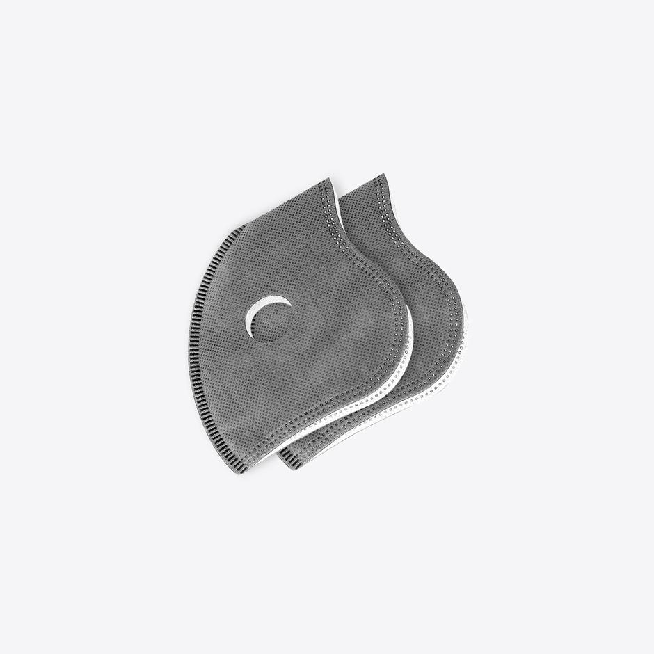 Chum Unisex Gri Outdoor Maske Filtresi 2'li Paket