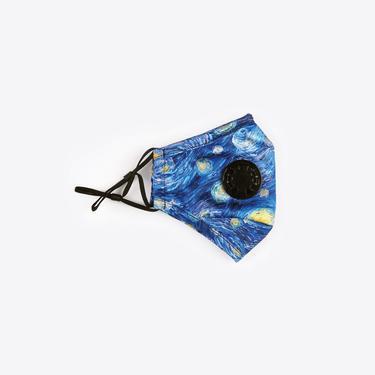 Chum Legend Kadın Mavi PM 2.5 Aktif Filtreli Yıkanabilir Maske