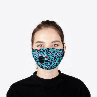 Chum Hot Date Kadın Mavi PM 2.5 Aktif Filtreli Yıkanabilir Maske