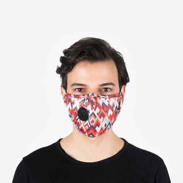 Chum UP UP UP Erkek Renkli PM 2.5 Aktif Filtreli Yıkanabilir Maske