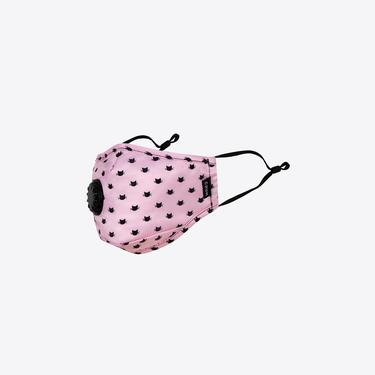 Chum Catwalk Kadın Pembe PM 2.5 Aktif Filtreli Yıkanabilir Maske
