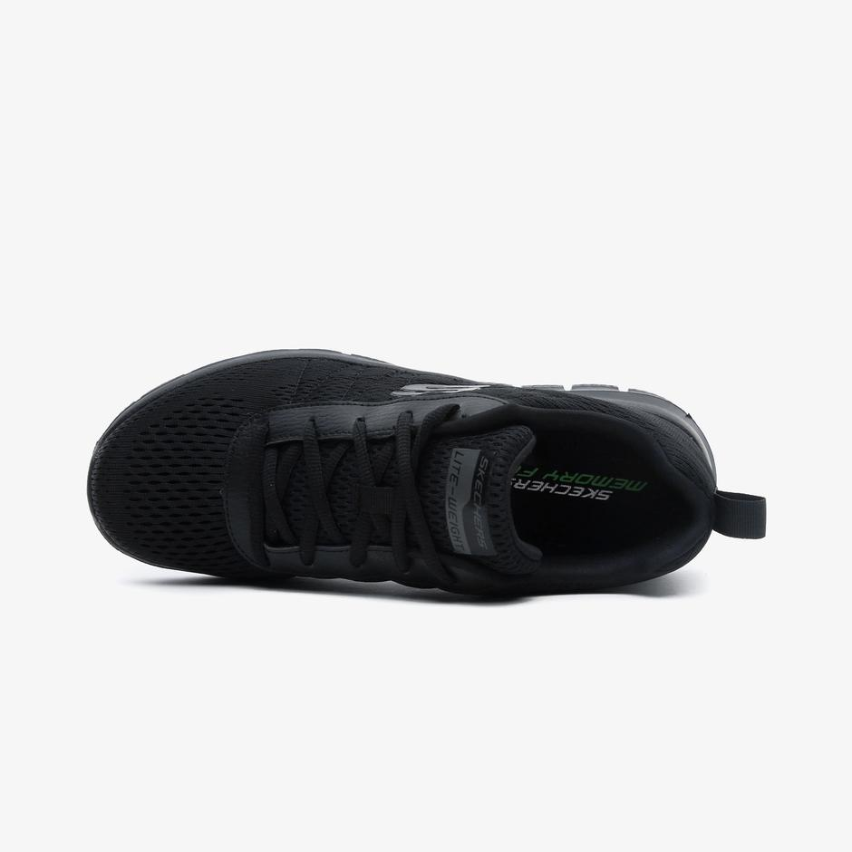 Skechers Track - Moulton Erkek Siyah Spor Ayakkabı