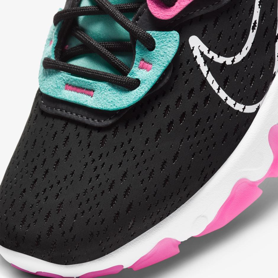 Nike React Vision Kadın Siyah Spor Ayakkabı