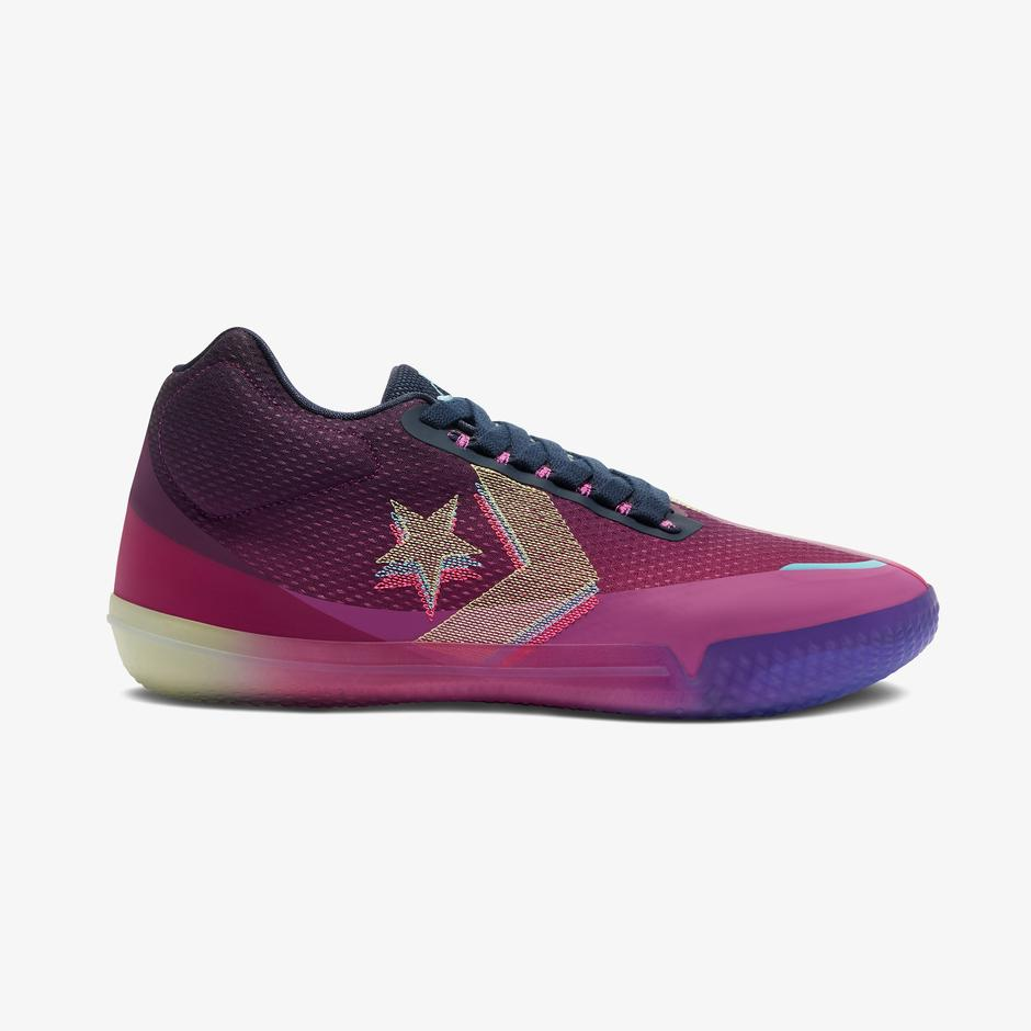 Converse All Star Bb Heart of The City Mid Erkek Mor Sneaker