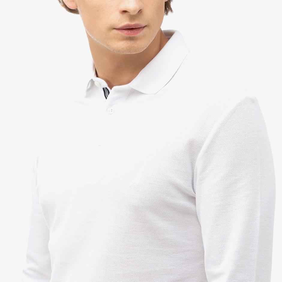 Nautica Erkek Beyaz Polo
