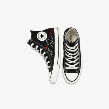 Converse Valentine's Day Chuck Taylor All Star Hi Unisex Siyah Sneaker