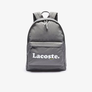 Lacoste Neocroc Unisex Gri Sırt Çantası