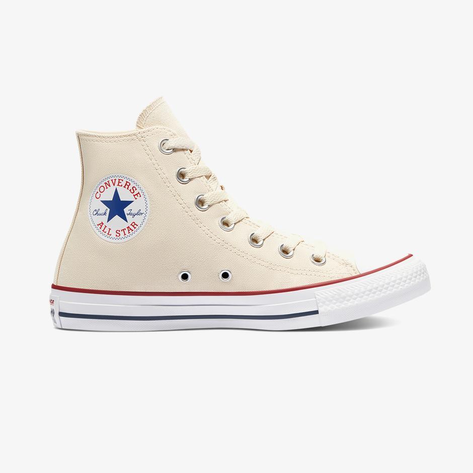 Converse Chuck Taylor All Star Hi Unisex Krem Sneaker