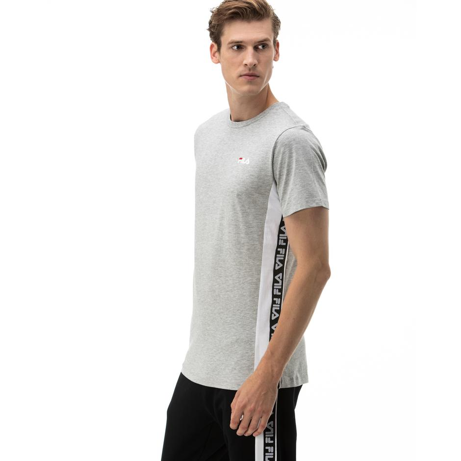 Fila Tobal Erkek Gri T-Shirt