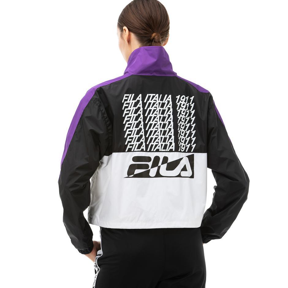 Fila Cage Kadın Siyah Ceket
