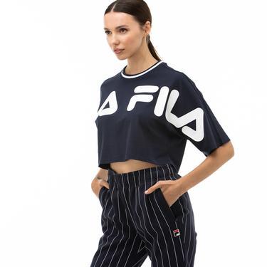 Fila Barr Kadın Lacivert T-Shirt