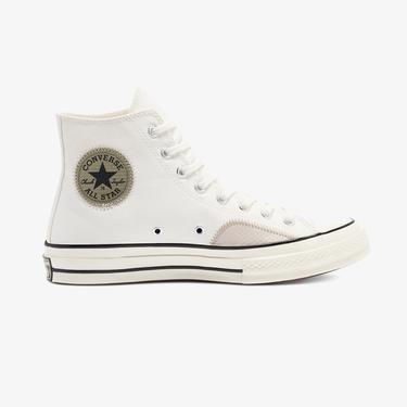 Converse Chuck 70 Ripstop And Canvas Hi Unisex Beyaz Sneaker