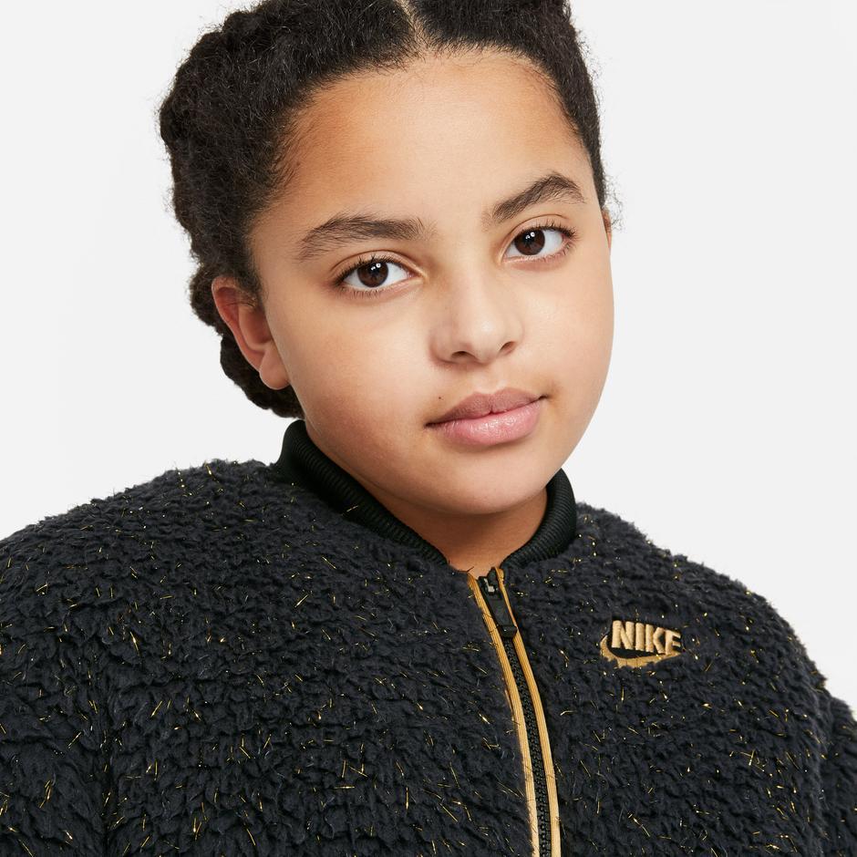Nike Sportswear Çocuk Siyah Ceket