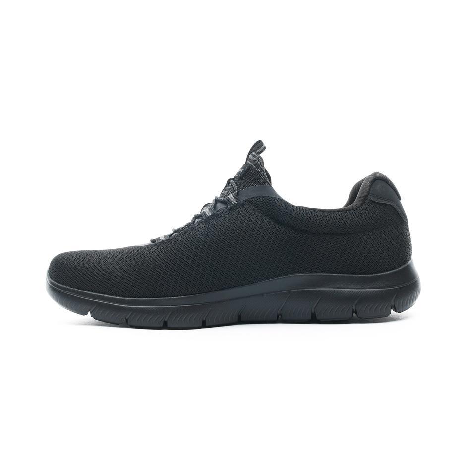 Skechers Erkek  Siyah Spor Ayakkabı