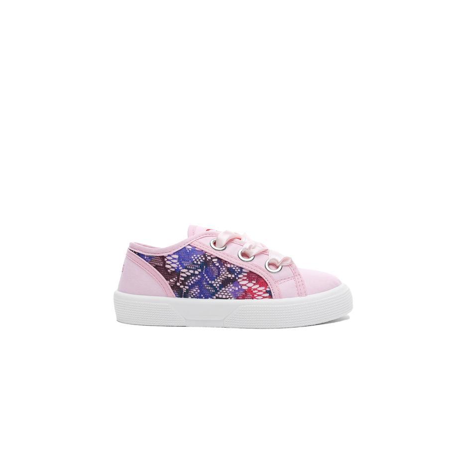 Guess Piuma Lace Çocuk Pembe Günlük Ayakkabı