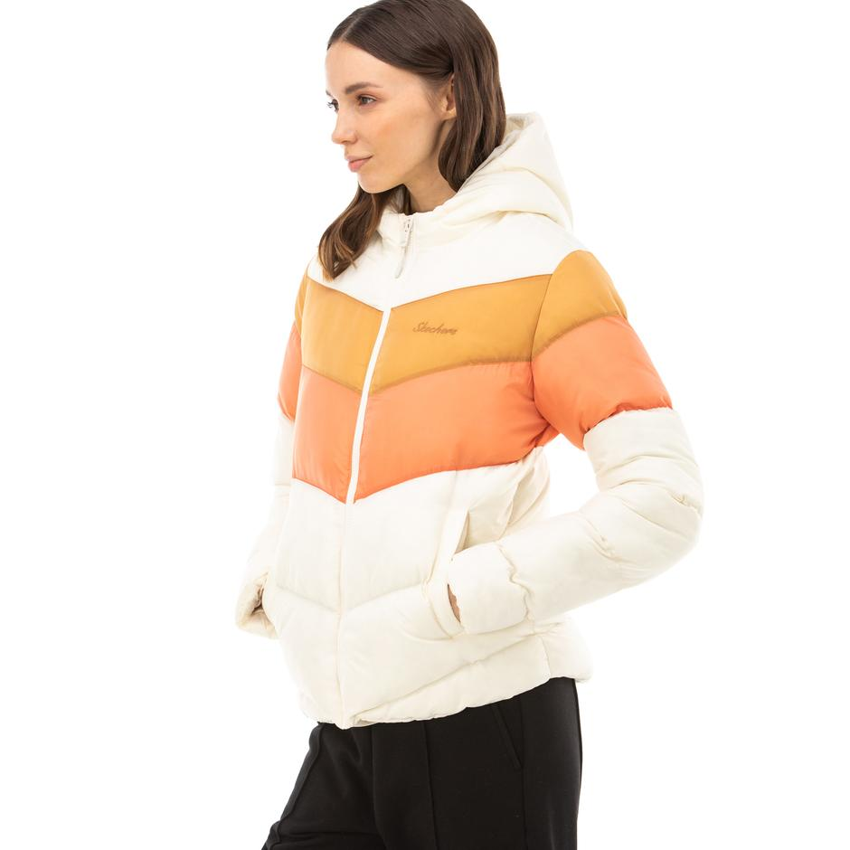 Skechers Outerwear Kadın Gri Mont
