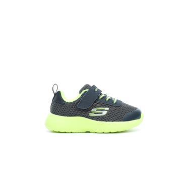 Skechers Dynamight Çocuk Gri-Yeşil Spor Ayakkabı