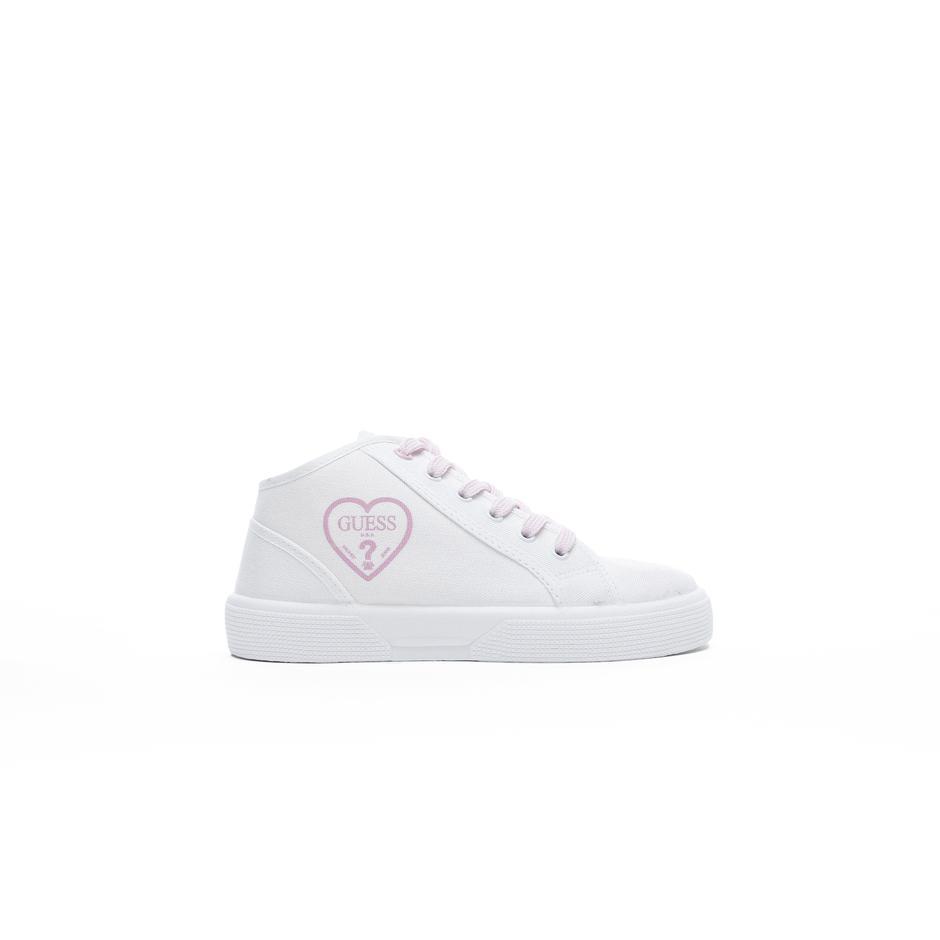 Guess Piuma Mid Çocuk Beyaz Günlük Ayakkabı