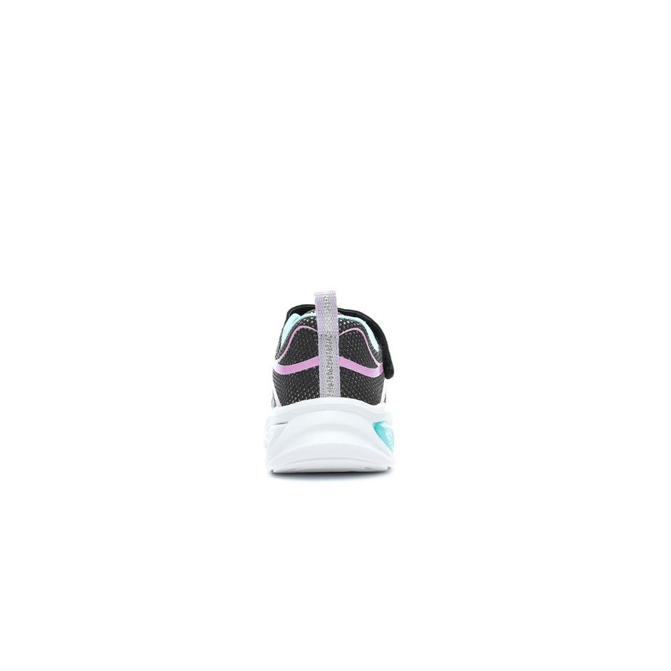 Skechers Shimmer Beams-Sporty Glow Işıklı Çocuk Siyah Spor Ayakkabı