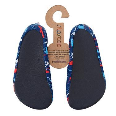 Slipstop Planes Lacivert Çocuk Havuz Ayakkabısı