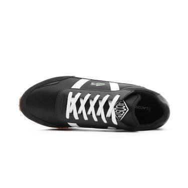 Lacoste Partner Erkek Siyah - Gri Spor Ayakkabı