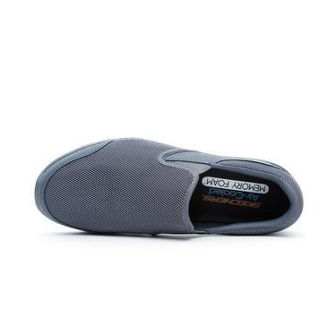 Skechers Flex Advantage 3.0 - Osthurst Erkek Gri Spor Ayakkabı