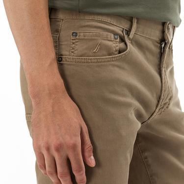 NAUTICA Erkek Slim Fit Bej Pantolon