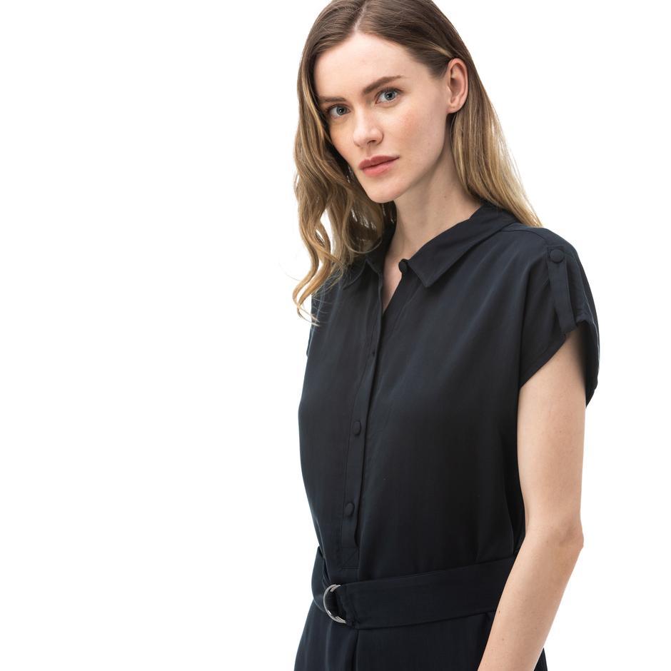 NAUTICA Kadın Siyah Elbise