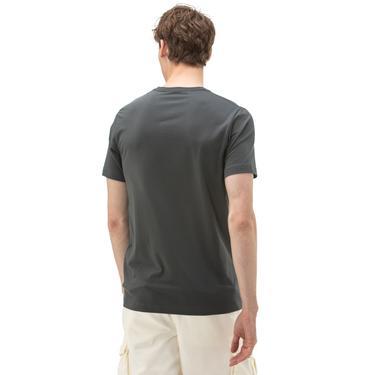 NAUTICA Erkek Antrasit V-Yaka T-Shirt