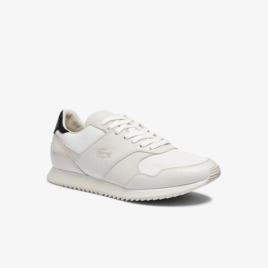 Lacoste Aesthet Luxe 0721 1 Sma Erkek Bej Sneaker