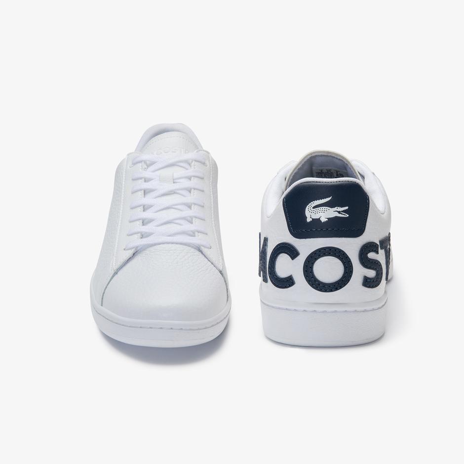 Lacoste Carnaby Evo 120 7 Us Sma Erkek Beyaz - Lacivert Sneaker