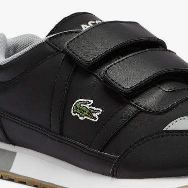 Lacoste Partner 0721 1 Suc Çocuk Siyah - Gri Sneaker