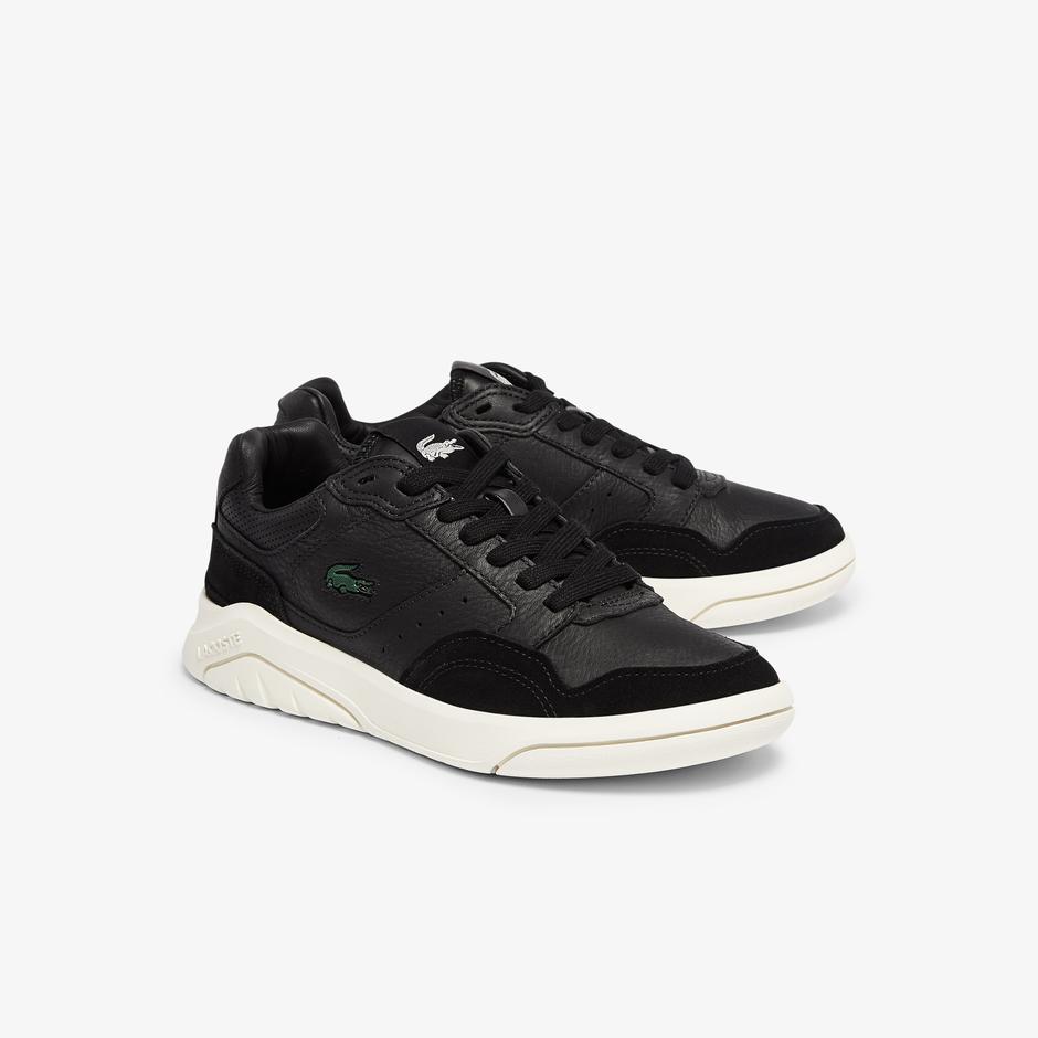 Lacoste Gameadvance Luxe 07211Sfa Kadın Siyah - Beyaz Sneaker