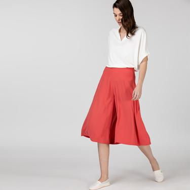 Lacoste Kadın Mid Kırmızı Pantolon