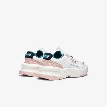 Lacoste Ace Lift 0721 2 Sfa Kadın Beyaz - Pembe Sneaker