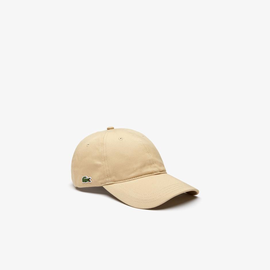Lacoste Unisex Bej Şapka
