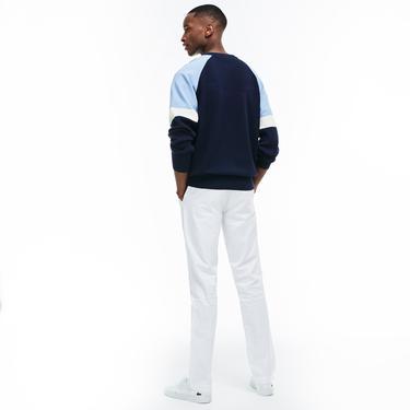 Lacoste Erkek Slim Fit Beyaz Pantolon