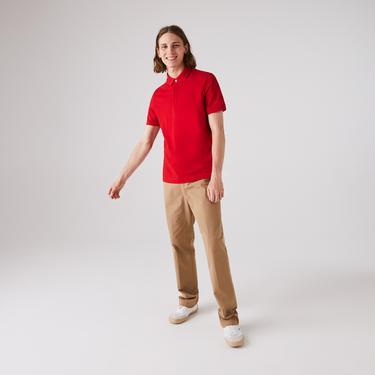 Lacoste Erkek Regular Fit Kırmızı Paris Polo