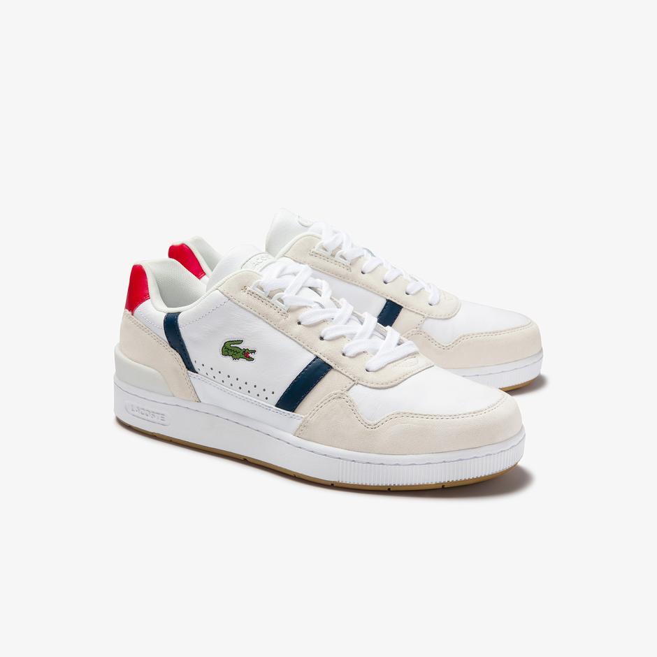 Lacoste T-Clip 0120 2 Sma Erkek Deri Renkli Sneaker