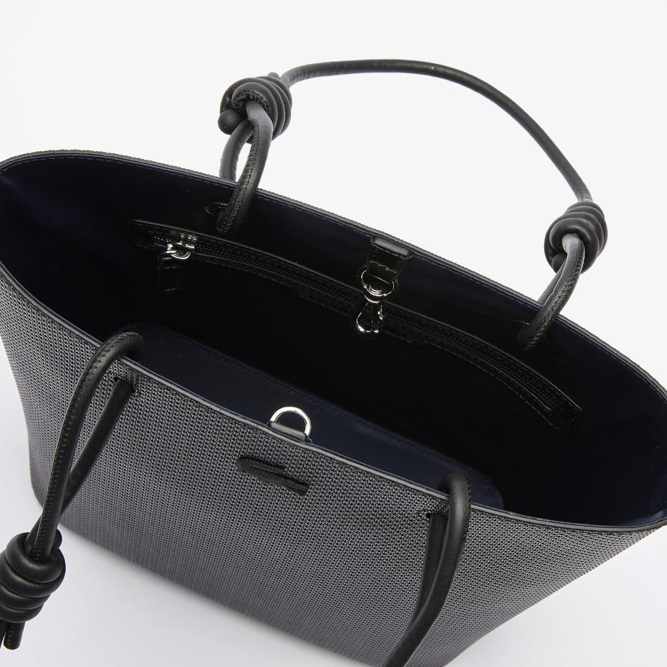 Lacoste Kadın Deri Siyah Çanta