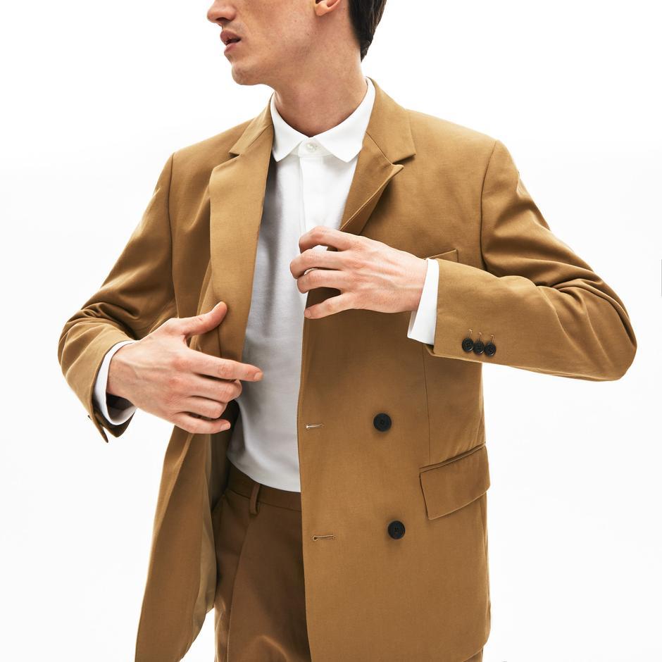 Lacoste Erkek Kahverengi Ceket