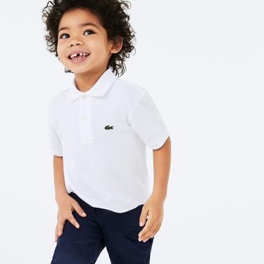 Lacoste Çocuk Beyaz Polo