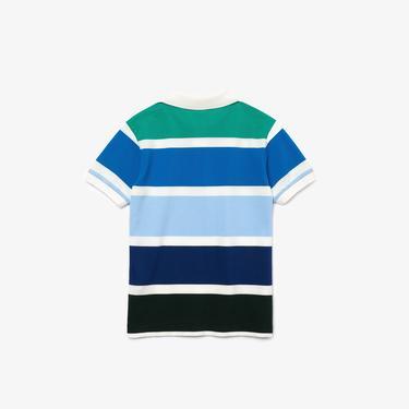 Lacoste Çocuk Çizgili Renkli Polo